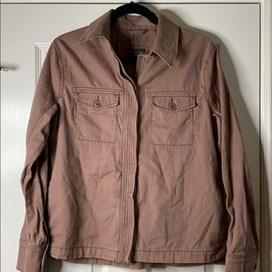 Abercrombie & Fitch Soft Canvas Style Jacket